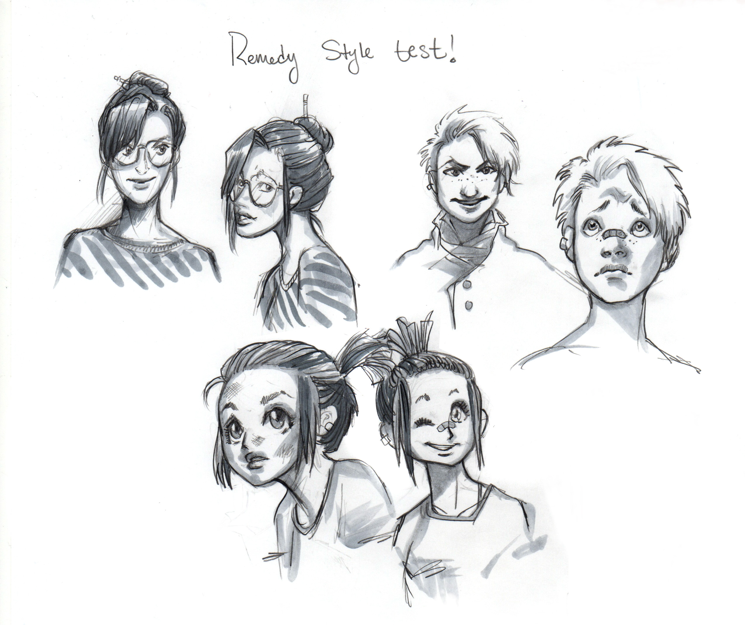 Character style test. 2013